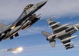 TSK: PKK'lı teröristlerin kullandığı 12 hedef imha edildi