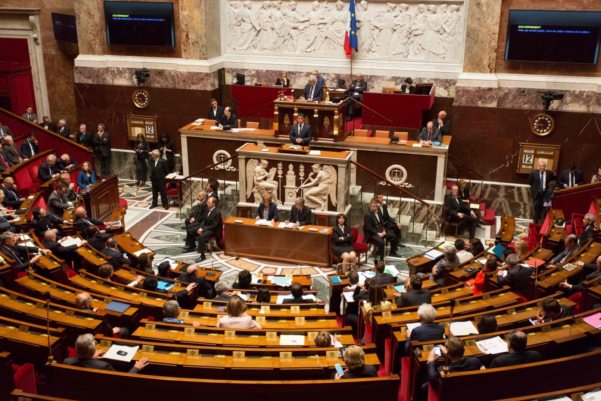 National Assembly in Paris (AFP Photo)