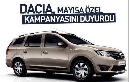 Dacia, mayısa özel kampanyasını duyurdu