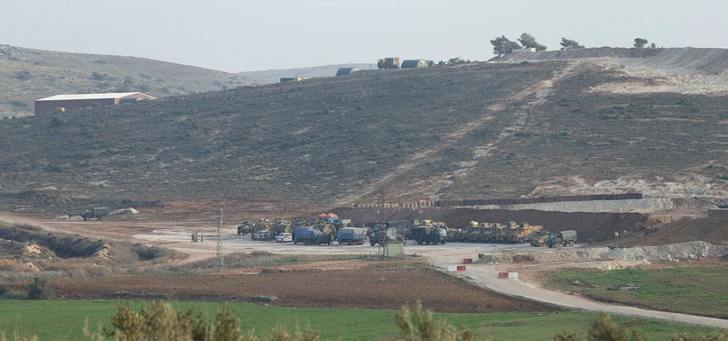 TURKISH FORCES HIT SEVERAL PKK/PYD TARGETS IN AFRIN DISTRICT OF SYRIAS ALEPPO