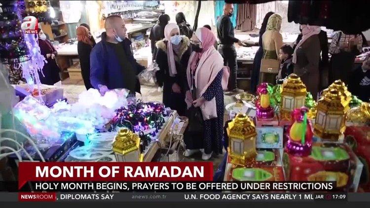 Muslims mark Ramadan amid virus surge and new restrictions