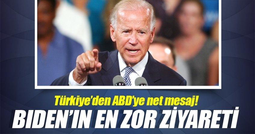 Joe Biden Türkiye'ye geldi