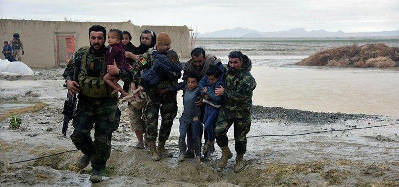 HEAVY RAINS, FLOODS KILL 32 PEOPLE ACROSS AFGHANISTAN