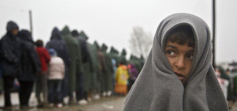 REFUGEE CHILDREN STRUGGLE TO SURVIVE AT EU BORDERS