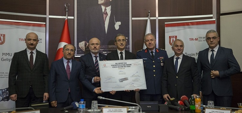 TURKEY SIGNS DEAL TO DEVELOP FIGHTER JET ENGINE, SAYS DOOR STILL OPEN FOR INT'L MANUFACTURERS