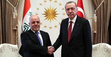 Erdoğan, Abadi discuss reopening of consulates in Mosul&Basra