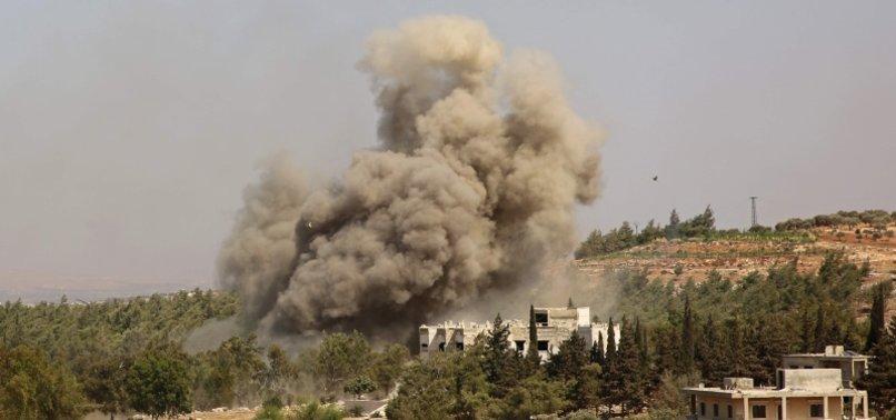 AIRSTRIKE TARGETS IRAQI MILITIA INSIDE SYRIA