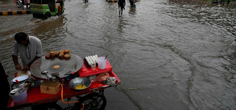 AT LEAST 58 DEAD IN PAKISTAN MONSOON RAINS