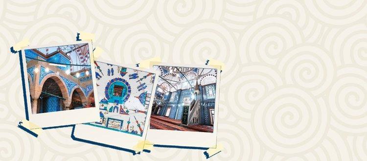 Çini sanatının zirvesi: Rüstem Paşa Camii