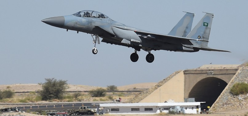 SAUDI-LED COALITION WARPLANE DOWNED IN YEMEN