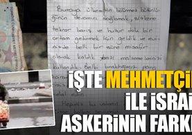 İsrail askeri ile Mehmetçik'in farkı