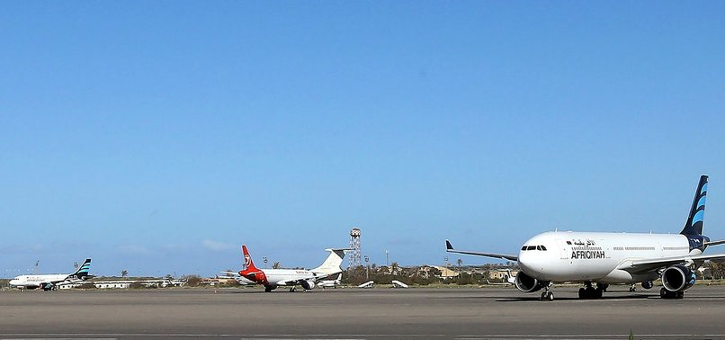 AVIATION SUSPENDED AT TRIPOLI AIRPORT