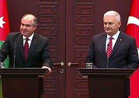 Binali Yıldırım ve Ürdün Başbakanı Mulki ortak basın toplantısında konuştu