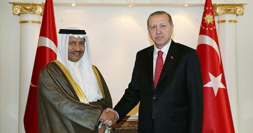 Son dakika: Cumhurbaşkanı Erdoğan, Kuveyt Başbakanı El Sabah'ı kabul etti