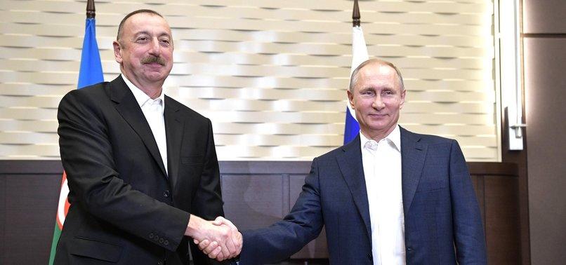 RUSSIAN, AZERBAIJANI LEADERS DISCUSS KARABAKH SITUATION