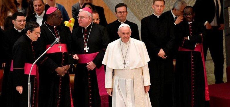 POPE URGES TRUMP TO RESPECT JERUSALEM'S STATUS