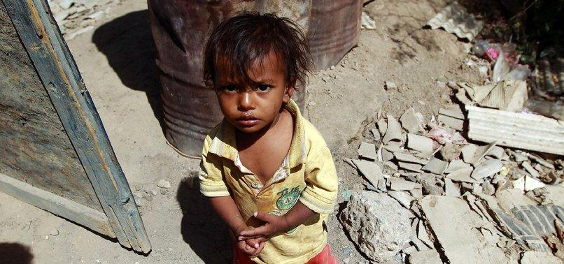 1.2M YEMENI CHILDREN LIVE IN CONFLICT ZONES: UNICEF