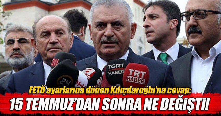 Başbakan Kılıçdaroğlu'na böyle cevap verdi