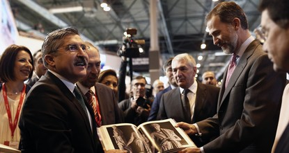 pSpain's King Felipe VI backed Turkish tourism at an international travel expo on Wednesday, saying the country's industry would recover quickly./p  pDuring his visit to the Turkish stand at the...