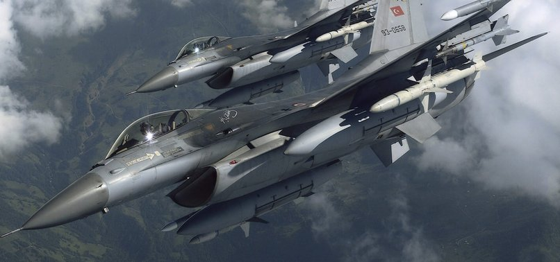 TURKISH JETS NEUTRALIZE 5 PKK TERRORISTS IN NORTHERN IRAQ