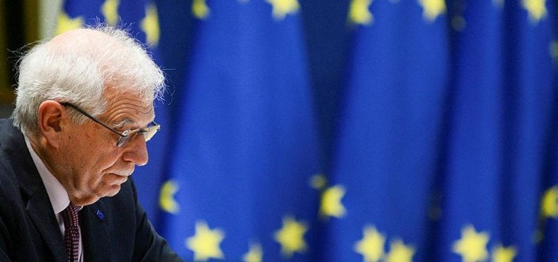 EU SET TO AGREE SANCTIONS OVER RUSSIA, MYANMAR CRACKDOWNS
