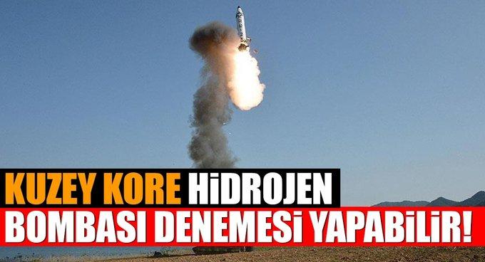 Kuzey Kore yeni bir hidrojen bombası denemesi yapabilir