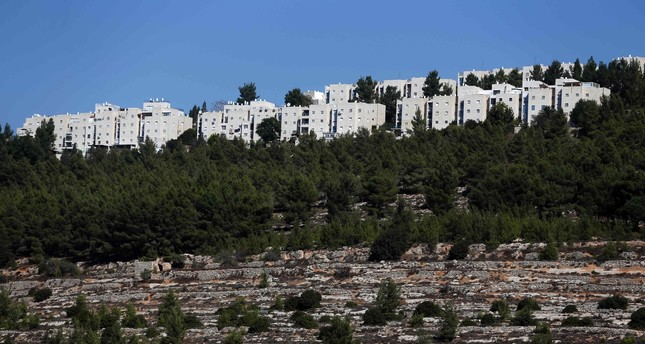 A picture taken on November 3, 2016 shows a partial view of the Jewish settlement of Gilo in Israeli-annexed east Jerusalem. (AFP PHOTO)