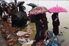 Arakanlı Müslümanları bu kez de sel vurdu