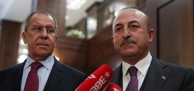 ÇAVUŞOĞLU, LAVROV TO MEET ON SUNDAY AMID SYRIA TENSIONS