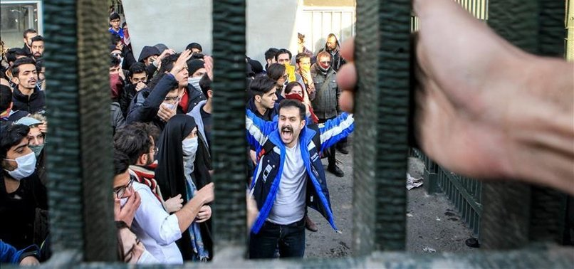 VICTIMS OF FINANCIAL FRAUD SWELL RANKS OF IRAN PROTESTS