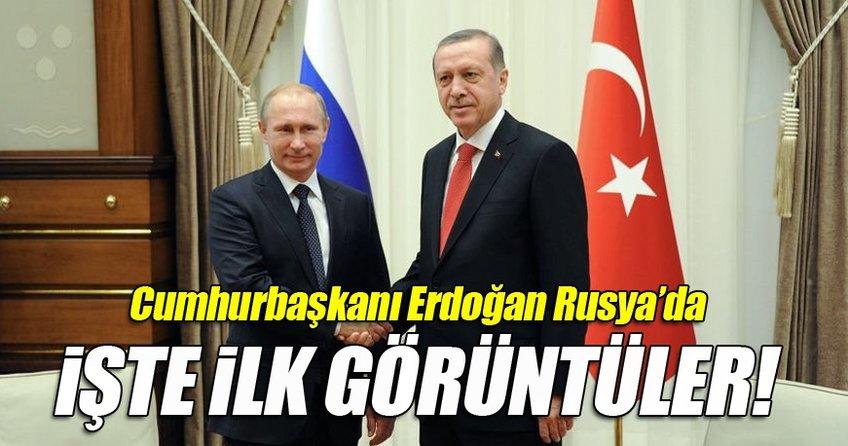 Cumhurbaşkanı Erdoğan, Türkiye-Rusya Üst Düzey İşbirliği Konseyi toplantısında