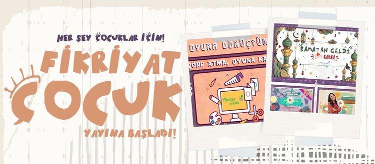 Turkuvaz Medya'nın yeni projesi Fikriyat Çocuk yayın hayatına başladı!
