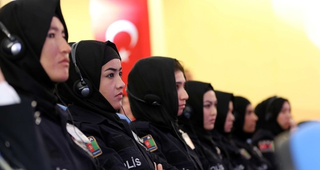 Afghanistan's female police cadets undergo training in Turkey