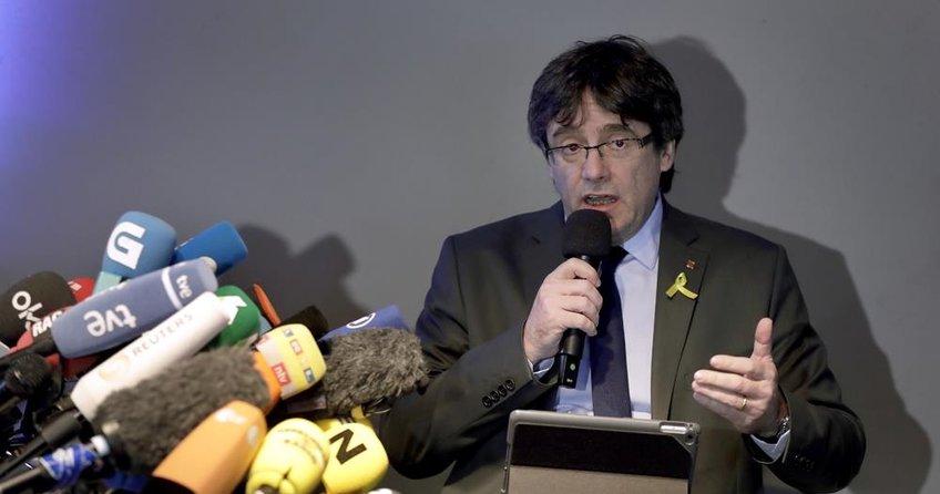 Eski Katalan lider evine dönmek istiyor