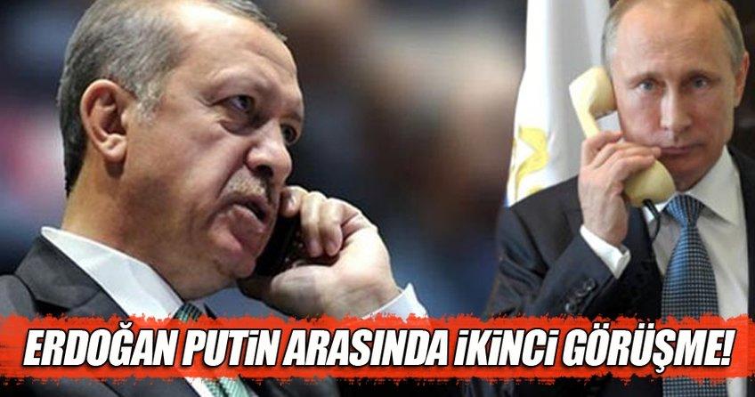 Erdoğan-Putin arasında ikinci görüşme