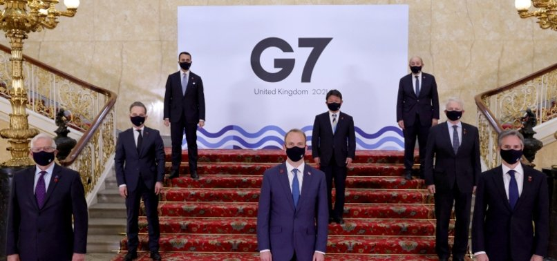 G7 MINISTERS UNITE AGAINST EROSIONS OF INTERNATIONAL LAW