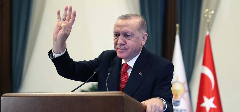 ERDOĞAN SAYS TURKEY WORKS TO TOP GLOBAL AND ECONOMIC SYSTEM