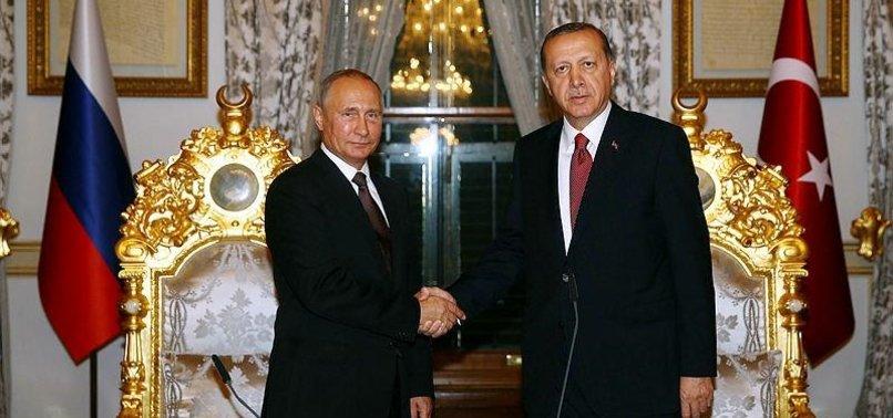 KREMLIN CONFIRMS UPCOMING ERDOĞAN-PUTIN MEETING ON SYRIA ISSUE