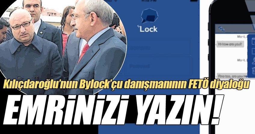 Kılıçdaroğlu'nun başdanışmanının ABD'deki FETÖ abisiyle diyaloğu
