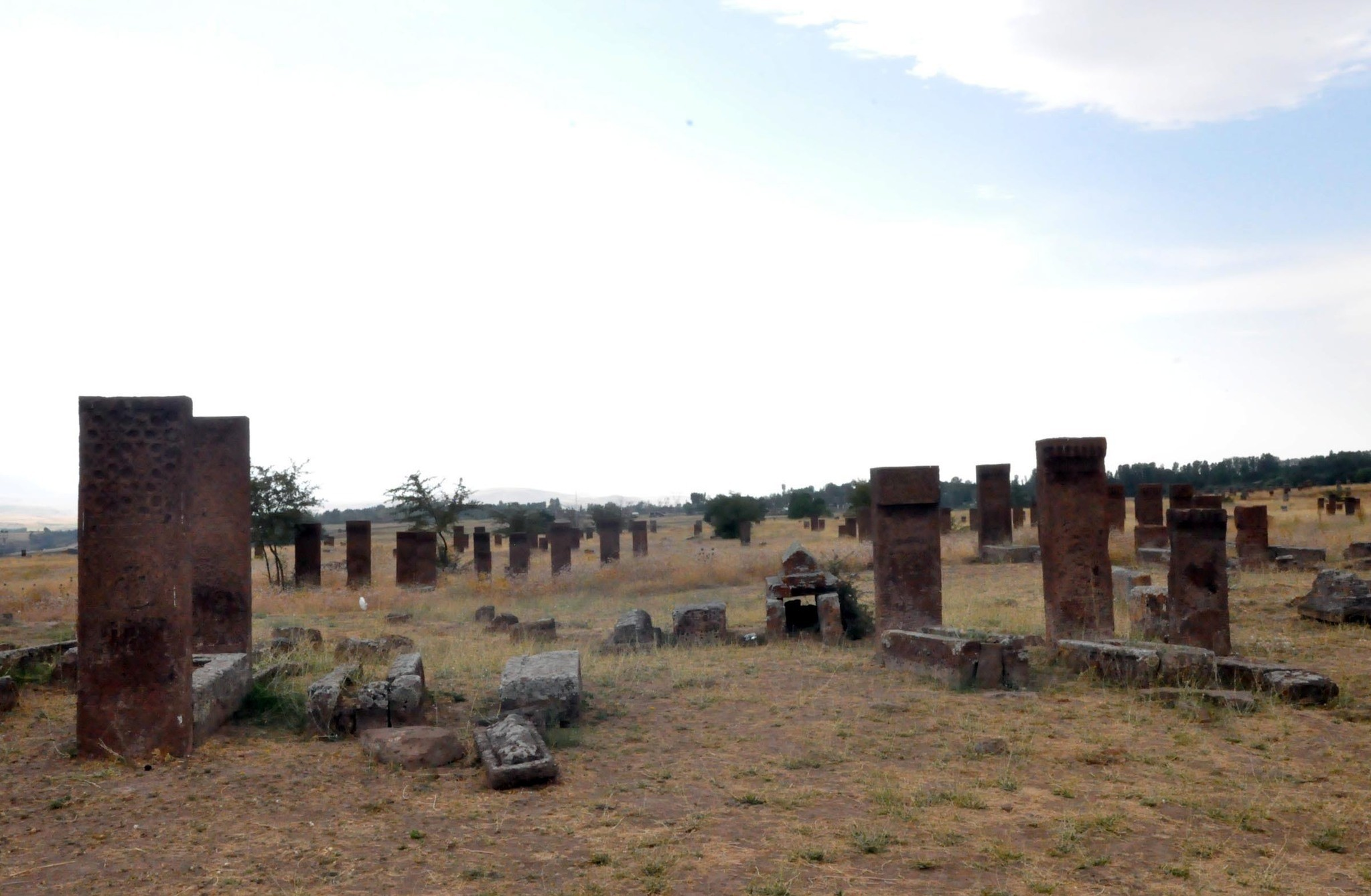 Ahlat district of Turkey's eastern province of Bitlis is to be moved to the main list of UNESCO, because of its historical places, Bitlis, Turkey. (DHA Photo)