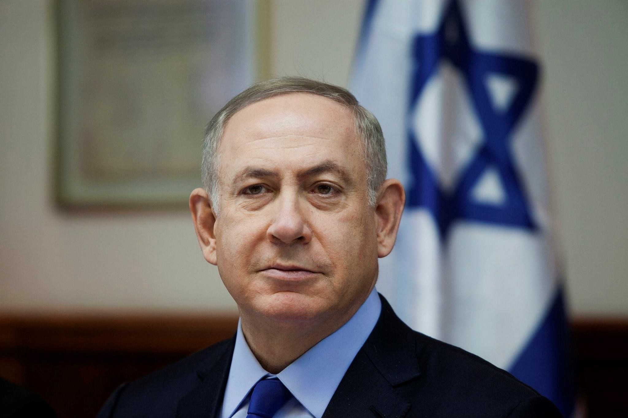 Israeli Prime Minister Benjamin Netanyahu called for a pardon for a soldier convicted of manslaughter in the fatal shooting of a badly wounded Palestinian assailant.