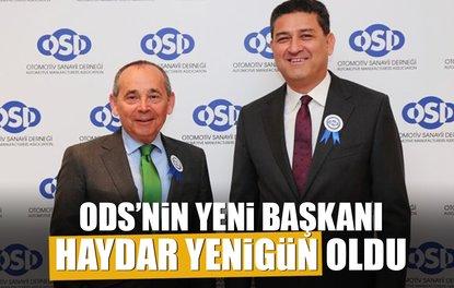 OSD'NİN YENİ BAŞKANI HAYDAR YENİGÜN OLDU