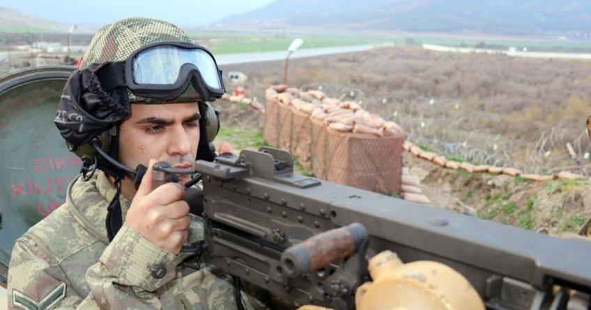 Türk Hudut Birlikleri, PYD kontrolündeki Afrin sınırında kuş uçurtmuyor