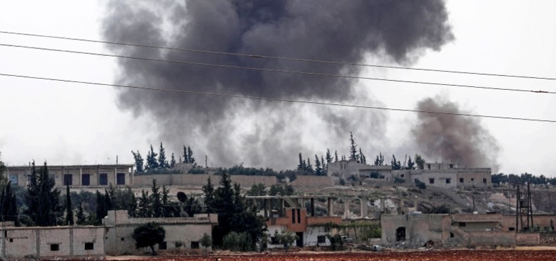 ASSAD REGIME, RUSSIA INTENSIFY BOMBING CAMPAIGN IN IDLIB