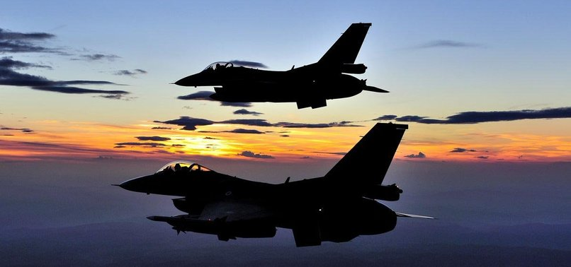TURKISH JETS 'NEUTRALIZE' 2 PKK TERRORISTS IN N. IRAQ