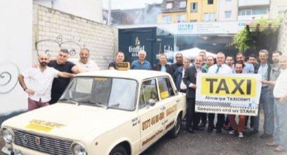 Türk taksiciler örgütleniyor