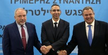Greek Cyprus, Israel, Greece vow deeper military ties