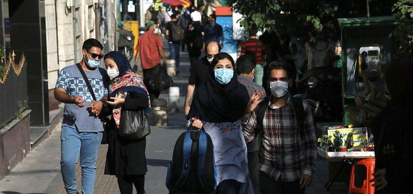 IRANS CORONAVIRUS DEATH TOLL RISES ABOVE 25,000 - HEALTH MINISTRY