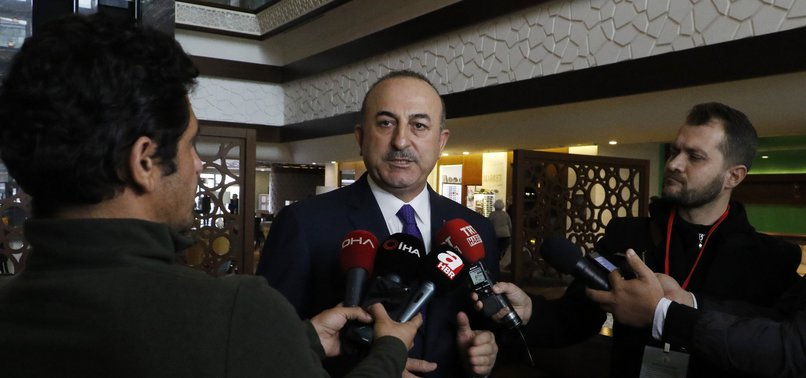 TURKISH FM ÇAVUŞOĞLU: PKK DISTURBED BY SUCCESSFUL AIRSTRIKES IN N. IRAQ