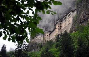 Sumela Monastery welcomes almost 125,000 tourists in last 3 months